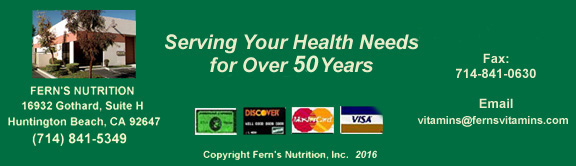 Click to E-mail Fern's Nutrition
